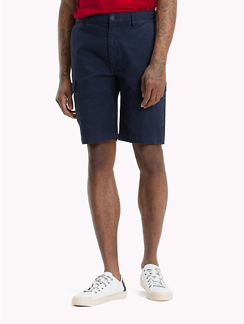 TOMMY JEANS Cargo Shorts - BLACK IRIS - TOMMY JEANS Trousers & Shorts - main image