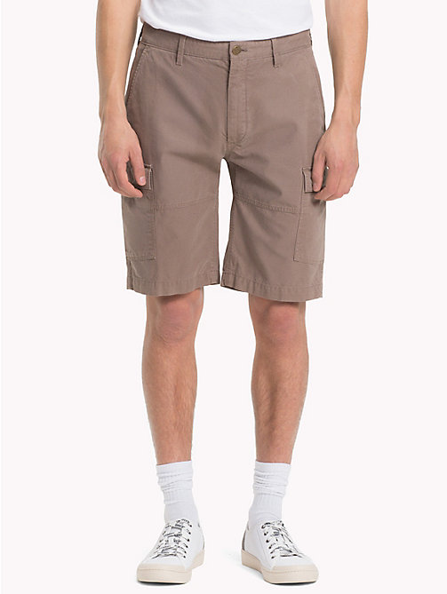 TOMMY JEANS Cargo Shorts - WALNUT - TOMMY JEANS Trousers & Shorts - main image