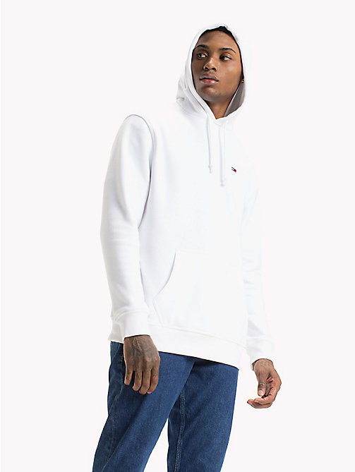 TOMMY JEANS Tommy Classics Monogram Hoodie - CLASSIC WHITE - TOMMY JEANS Tommy Classics - main image
