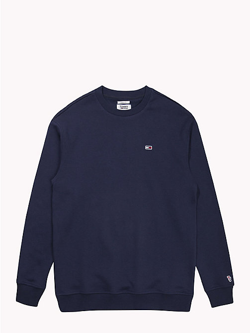 TOMMY JEANS Tommy Classics Crew Neck Sweatshirt - BLACK IRIS - TOMMY JEANS Test 8 - Men - detail image 1
