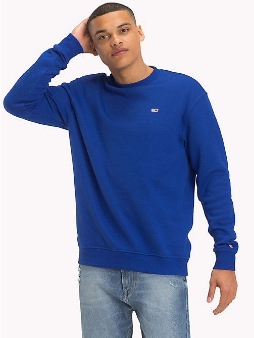 TOMMY JEANS Tommy Classics Sweatshirt - SURF THE WEB - TOMMY JEANS Trainingsanzüge - main image