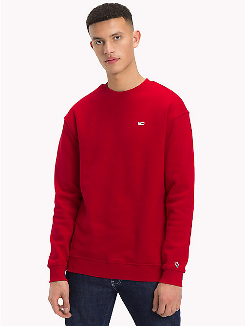 TOMMY JEANS Tommy Classics Crew Neck Sweatshirt - SAMBA - TOMMY JEANS Tommy Classics - detail image 1