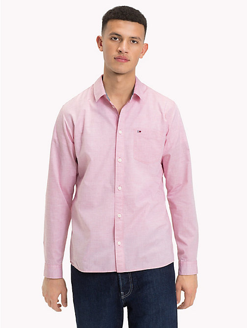 TOMMY JEANS Essential Smart Shirt - SAMBA - TOMMY JEANS Shirts - main image