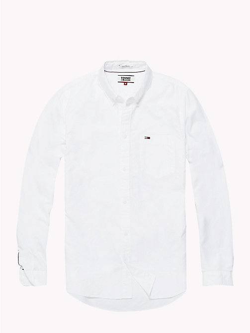 TOMMY JEANS Tommy Classics Oxford Shirt - CLASSIC WHITE - TOMMY JEANS Tommy Classics - detail image 1