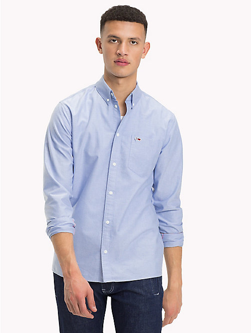 TOMMY JEANS Tommy Classics Regular Fit Shirt - LIGHT BLUE - TOMMY JEANS Tommy Classics - detail image 1