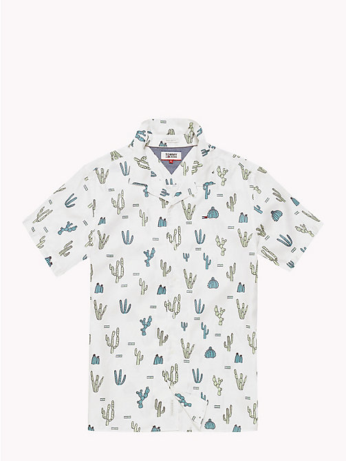 TOMMY JEANS Summer Print Shirt - CACTUS AOP / CLASSIC WHITE - TOMMY JEANS Vacation Style - detail image 1