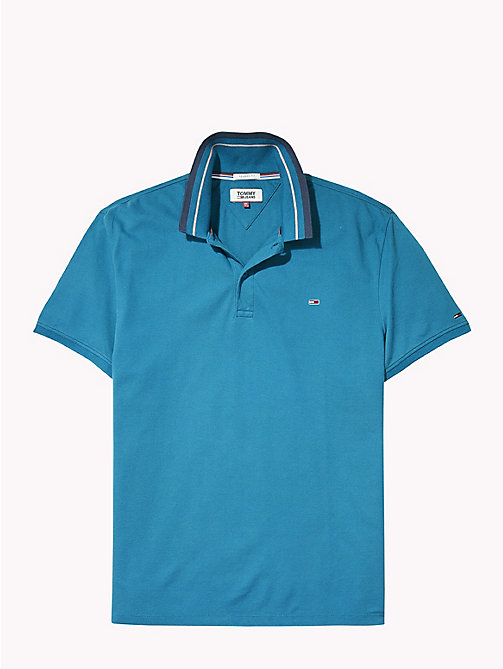 TOMMY JEANS Tommy Classics poloshirt - BLUE SAPPHIRE - TOMMY JEANS Kleding - detail image 1