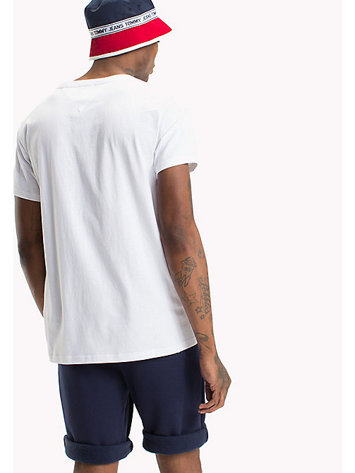 TOMMY JEANS Regular Fit T-Shirt - CLASSIC WHITE - TOMMY JEANS T-Shirts & Poloshirts - main image 1