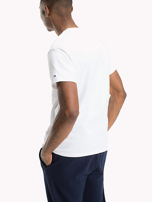 TOMMY JEANS Regular Fit Runner T-Shirt - CLASSIC WHITE - TOMMY JEANS T-Shirts & Polos - detail image 1