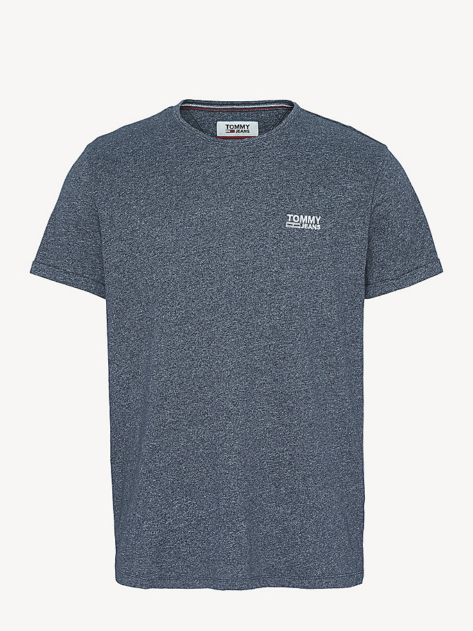 TOMMY JEANS Regular Fit Jersey T-Shirt - AIR BLUE - TOMMY JEANS Men - detail image 4