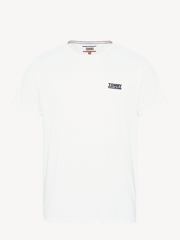 TOMMY JEANS Regular Fit Jersey T-Shirt - ROSE OF SHARON - TOMMY JEANS Men - detail image 4