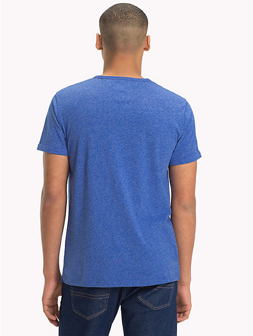 TOMMY JEANS Regular Fit Jersey T-Shirt - SURF THE WEB - TOMMY JEANS T-Shirts & Polos - detail image 1