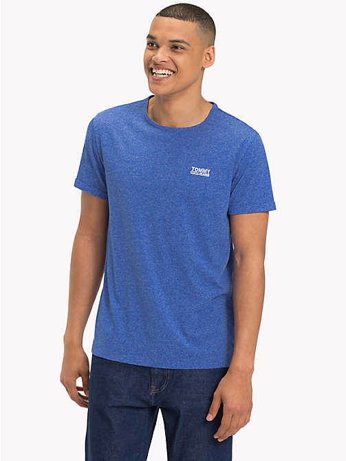 TOMMY JEANS Regular Fit Jersey T-Shirt - SURF THE WEB - TOMMY JEANS T-Shirts & Polos - main image