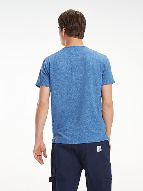 TOMMY JEANS T-shirt mélange regular fit - LIMOGES - TOMMY JEANS T-Shirts & Polos - dettaglio immagine 1