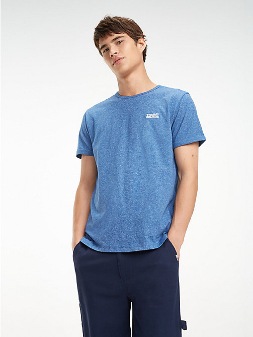 TOMMY JEANS Regular Fit Jaspe T-Shirt - LIMOGES - TOMMY JEANS T-Shirts & Polos - main image