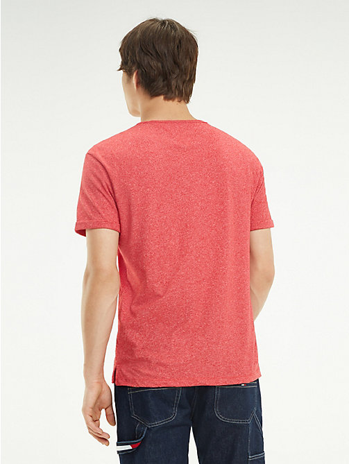 TOMMY JEANS T-shirt regular fit in jersey - SAMBA - TOMMY JEANS T-Shirts & Polos - dettaglio immagine 1