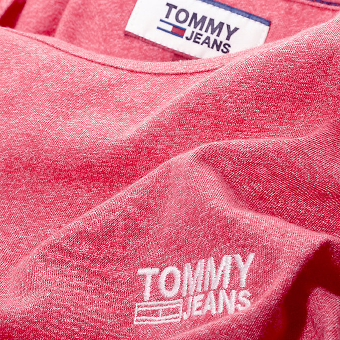 TOMMY JEANS Regular Fit Jersey T-Shirt - BLUE SAPPHIRE - TOMMY JEANS Men - detail image 3