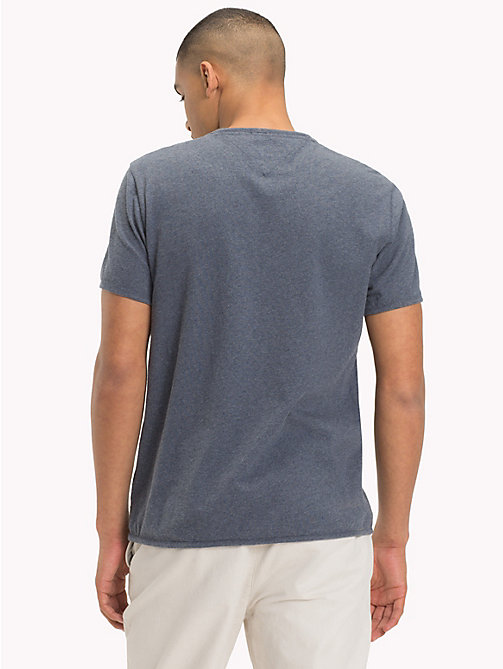 TOMMY JEANS Regular Fit Pocket T-Shirt - BLACK IRIS - TOMMY JEANS T-Shirts & Polos - detail image 1
