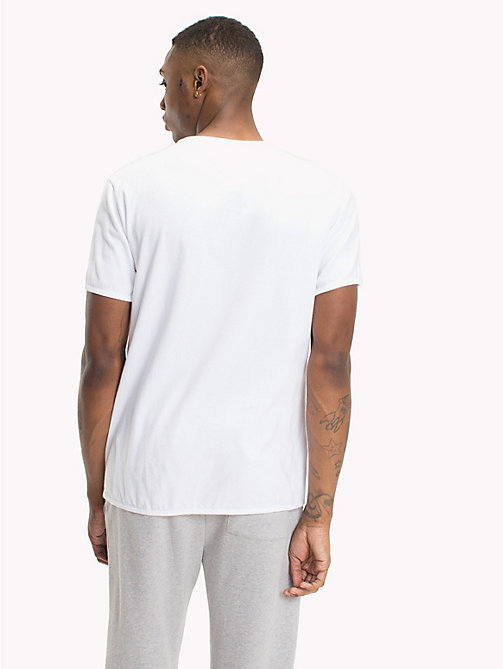 TOMMY JEANS Regular Fit Pocket T-Shirt - CLASSIC WHITE - TOMMY JEANS T-Shirts & Polos - detail image 1