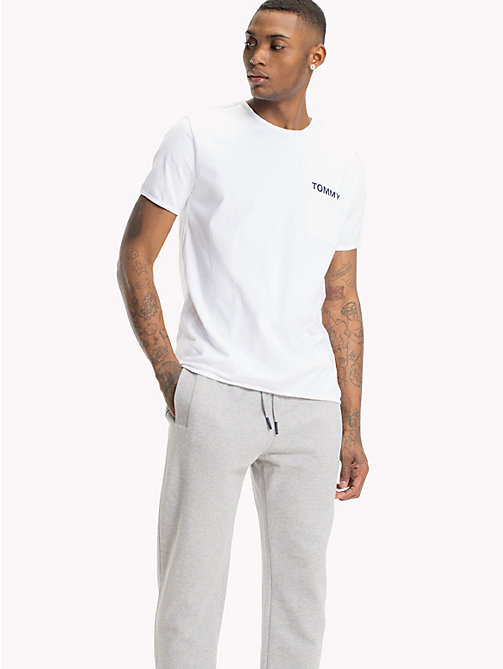 TOMMY JEANS Regular Fit Pocket T-Shirt - CLASSIC WHITE - TOMMY JEANS T-Shirts & Polos - main image