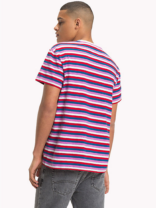 TOMMY JEANS Gestreept relaxed fit T-shirt - BODACIOUS / MULTI - TOMMY JEANS T-Shirts &  Polo's - detail image 1