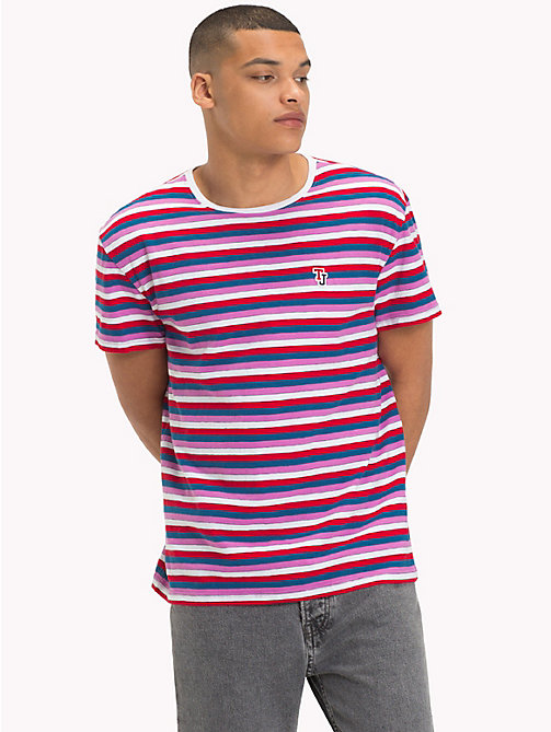 TOMMY JEANS Gestreept relaxed fit T-shirt - BODACIOUS / MULTI - TOMMY JEANS T-Shirts &  Polo's - main image