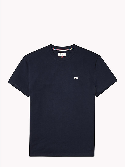 TOMMY JEANS Tommy Classics Organic Cotton T-Shirt - BLACK IRIS - TOMMY JEANS Sustainable Evolution - detail image 1