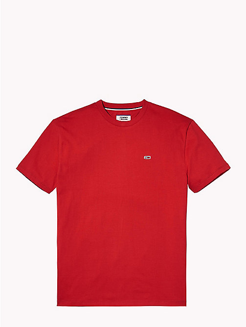 TOMMY JEANS Tommy Classics Organic Cotton T-Shirt - SAMBA - TOMMY JEANS Sustainable Evolution - detail image 1
