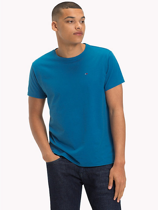 TOMMY JEANS Regular Fit Jersey T-Shirt - BLUE SAPPHIRE - TOMMY JEANS T-Shirts & Polos - main image