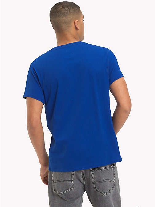 TOMMY JEANS Regular fit jersey T-shirt - SURF THE WEB - TOMMY JEANS T-Shirts &  Polo's - detail image 1