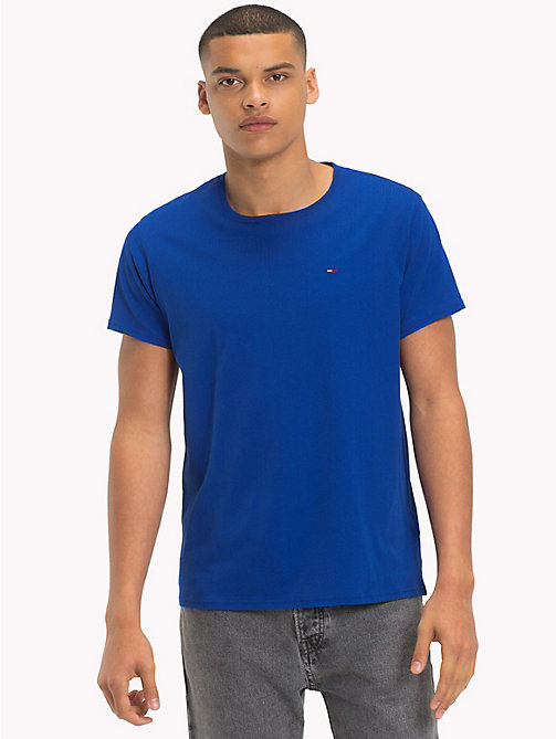 TOMMY JEANS Regular fit jersey T-shirt - SURF THE WEB - TOMMY JEANS T-Shirts &  Polo's - main image