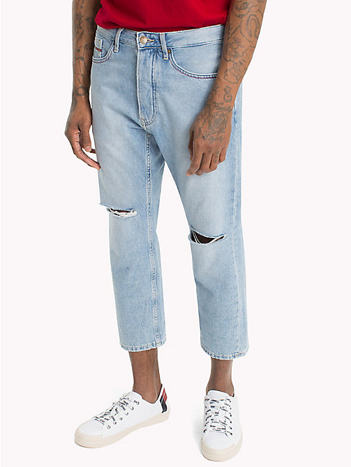 TOMMY JEANS TJ 1951 Relaxed Baggy Jeans - MASON LIGHT BLUE RIGID - TOMMY JEANS Straight Fit Jeans - main image