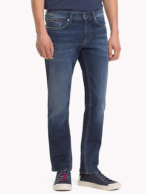 TOMMY JEANS Dynamic Stretch Slim Fit Jeans - DYNAMIC JACOB DARK BLUE STR. - TOMMY JEANS Slim Fit Jeans - main image