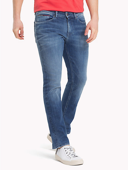 TOMMY JEANS Dynamic Stretch Faded Slim Fit Jeans - DYNAMIC JACOB MID BLUE STR - TOMMY JEANS Clothing - main image