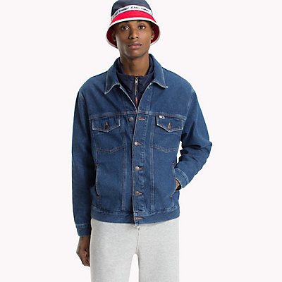 TOMMY JEANS  - TOMMY CLASSICS MID BLUE RIGID -   - main image