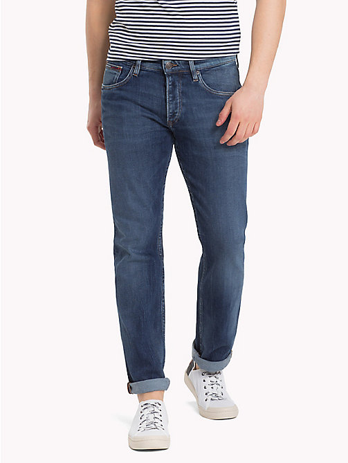 TOMMY JEANS Straight Fit Jeans - SOMERS DARK BLUE COM -  Jeans - main image