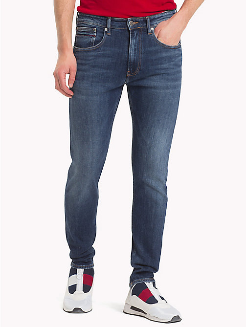 TOMMY JEANS Tapered Leg TJ 1988 Jeans - SOMERS DARK BLUE COM - TOMMY JEANS Tapered Jeans - main image