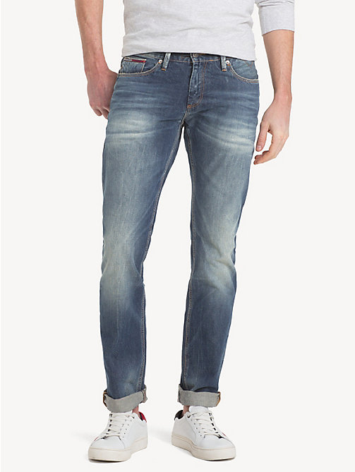 TOMMY JEANS Jeans straight fit sbiaditi - SOMERS LIGHT BLUE COM - TOMMY JEANS Jeans - immagine principale