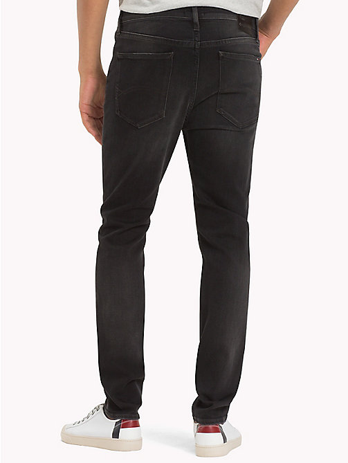 TOMMY JEANS Skinny Fit Jeans - KELVIN BLACK STRETCH - TOMMY JEANS Clothing - detail image 1