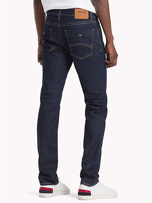 TOMMY JEANS Dynamic Stretch Slim Fit Jeans - WILSON RINSE BLUE STRETCH - TOMMY JEANS Clothing - detail image 1