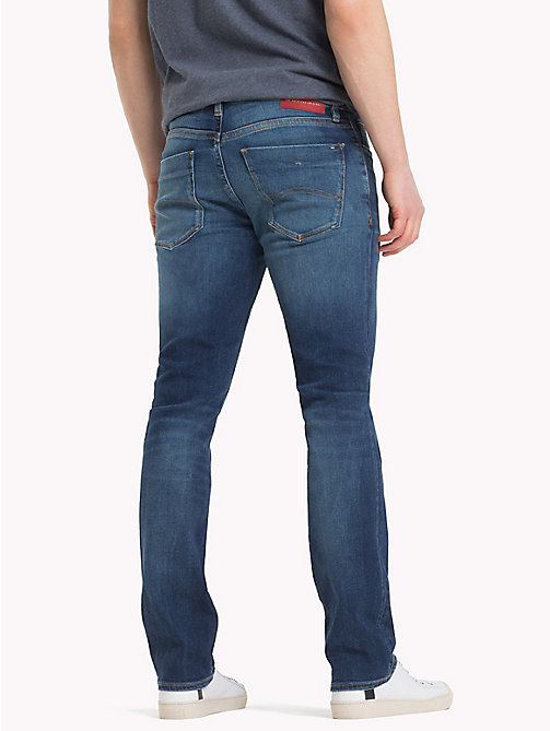 TOMMY JEANS Slim Fit Denim Jeans - WILSON MID BLUE STRETCH - TOMMY JEANS Slim Fit Jeans - detail image 1