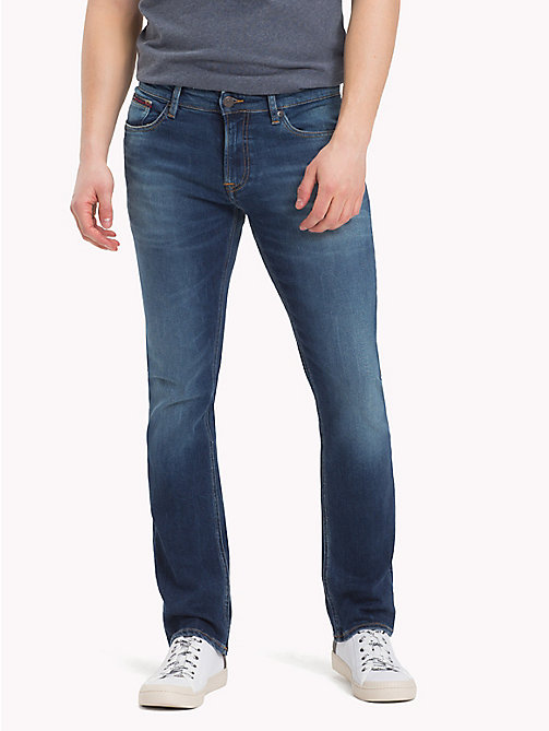 TOMMY JEANS Slim Fit Denim Jeans - WILSON MID BLUE STRETCH - TOMMY JEANS Slim Fit Jeans - main image
