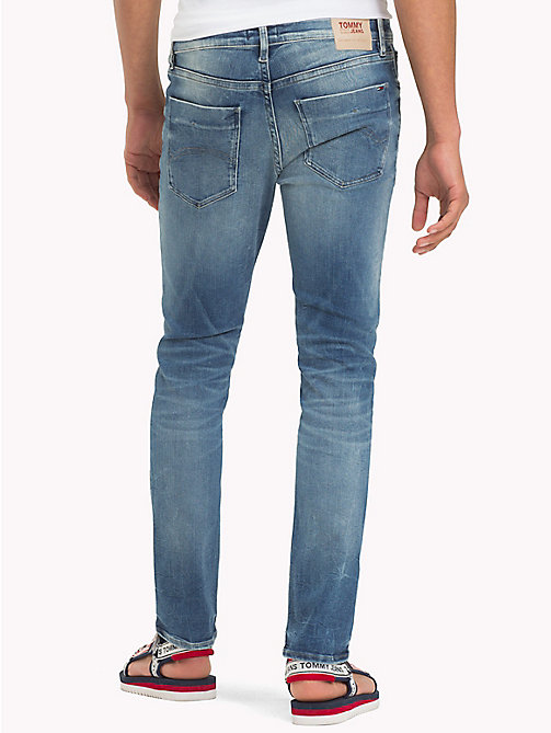 TOMMY JEANS Jeans slim fit sbiaditi - WILSON LIGHT BLUE STRETCH - TOMMY JEANS Jeans - dettaglio immagine 1