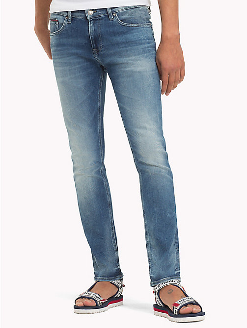 TOMMY JEANS Faded Slim Fit Jeans - WILSON LIGHT BLUE STRETCH - TOMMY JEANS Slim Fit Jeans - main image
