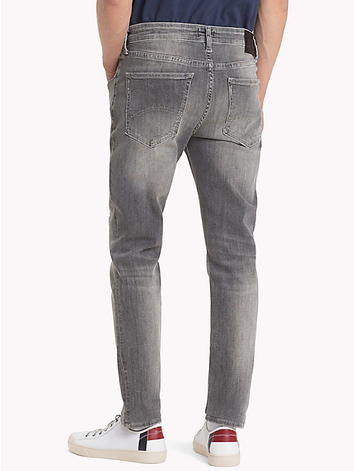 TOMMY JEANS Faded Skinny Fit Jeans - FALCON GREY STRETCH - TOMMY JEANS Skinny Jeans - detail image 1