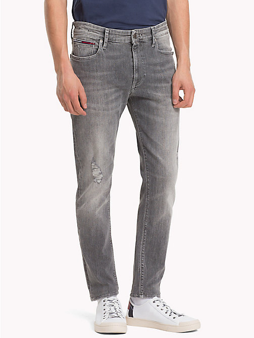 TOMMY JEANS Faded Skinny Fit Jeans - FALCON GREY STRETCH - TOMMY JEANS Skinny Jeans - main image