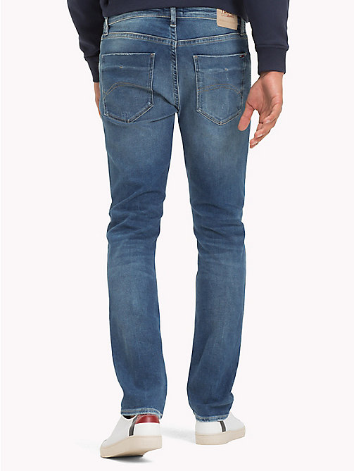 TOMMY JEANS Slim Fit Denim Jeans - GLADYS MID BLUE STR - TOMMY JEANS Slim Fit Jeans - detail image 1