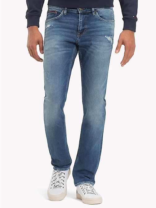 TOMMY JEANS Slim Fit Denim Jeans - GLADYS MID BLUE STR - TOMMY JEANS Slim Fit Jeans - main image