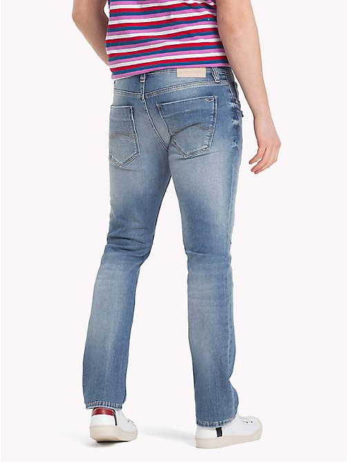 TOMMY JEANS Dynamic Stretch Slim Fit Jeans - LEROY LIGHT BLUE COM - TOMMY JEANS Slim Fit Jeans - detail image 1