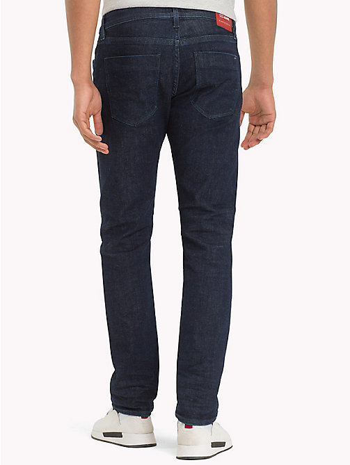 TOMMY JEANS Organic Cotton Slim Fit Selvedge Jeans - SELV RINSE BLUE STRETCH - TOMMY JEANS Slim Fit Jeans - detail image 1